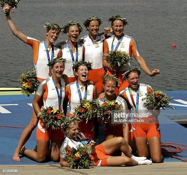 Dutch Froukje Wegman Marlies Smulders Nienke Hommes Hurnet Dekkers Annemarieke van Rumpt Annemiek de Hann Sarah Siegelaar Helen Tanger and Ester...