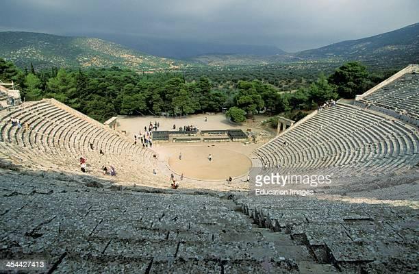 Greece Epidaurus Theatre