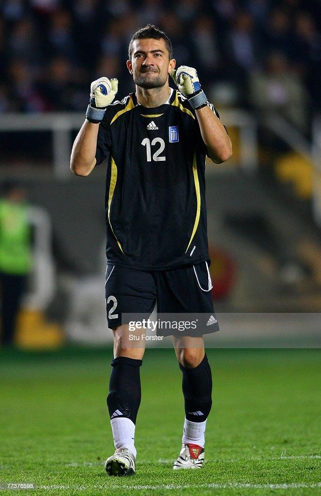Euro 2008 Qualifier: Turkey v Greece : News Photo
