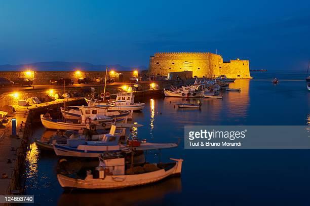Greece, Heraklion, the Venetian fortress
