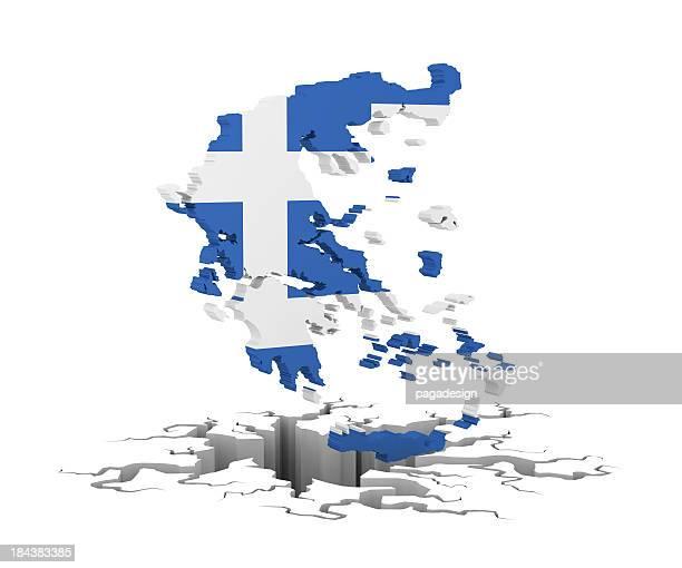 grecia in recesion - grecia stato foto e immagini stock
