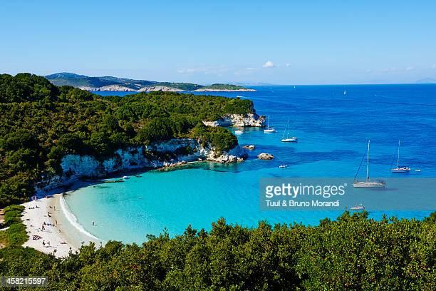 Greece, Ionian island, Antipaxi, Voutoumi beach