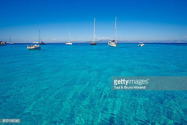 greece, ionian island, antipaxi, voutoumi beach - peloponnese stock photos and pictures
