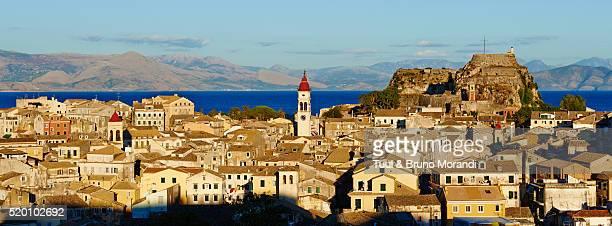 Greece, Ionian island, Corfu island, Kerkyra city
