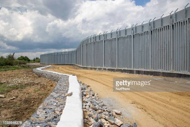 Greece is reinforcing the Greek Turkish borders with personnel, cameras, drones, heavy vehicles, FRONTEX officers but also with a 5 meter tall fence....