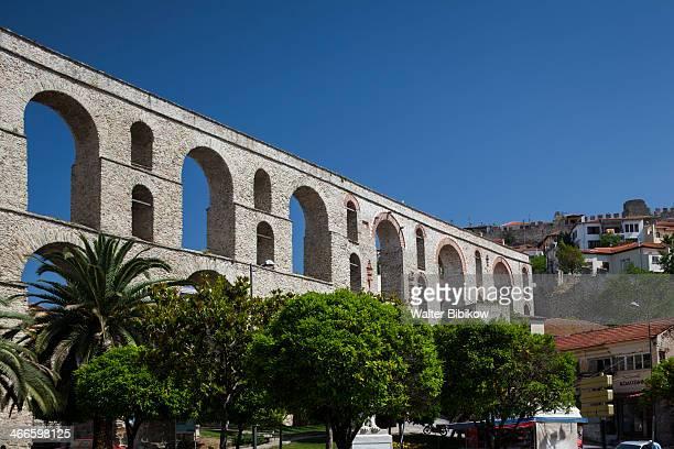 Greece, Kavala, Kamares Aqueduct