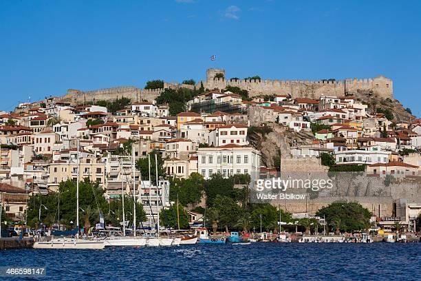 Greece, Kavala, town view