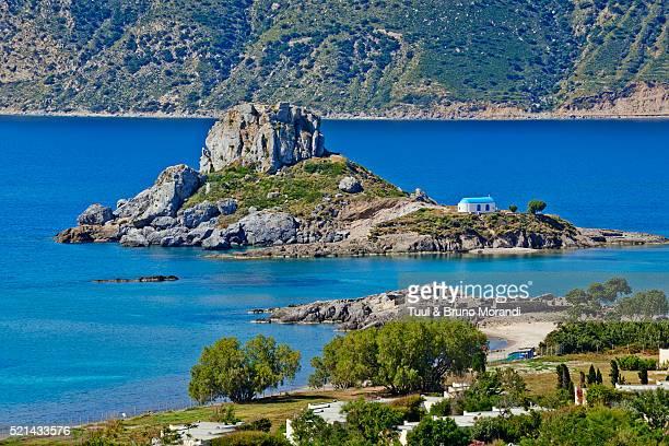 Greece, Kos, Kefalos bay, Kastri island
