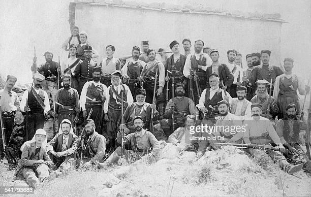 Greece Kreta Crete GrecoTurkish War Greek insurgents undatedVintage property of ullstein bild