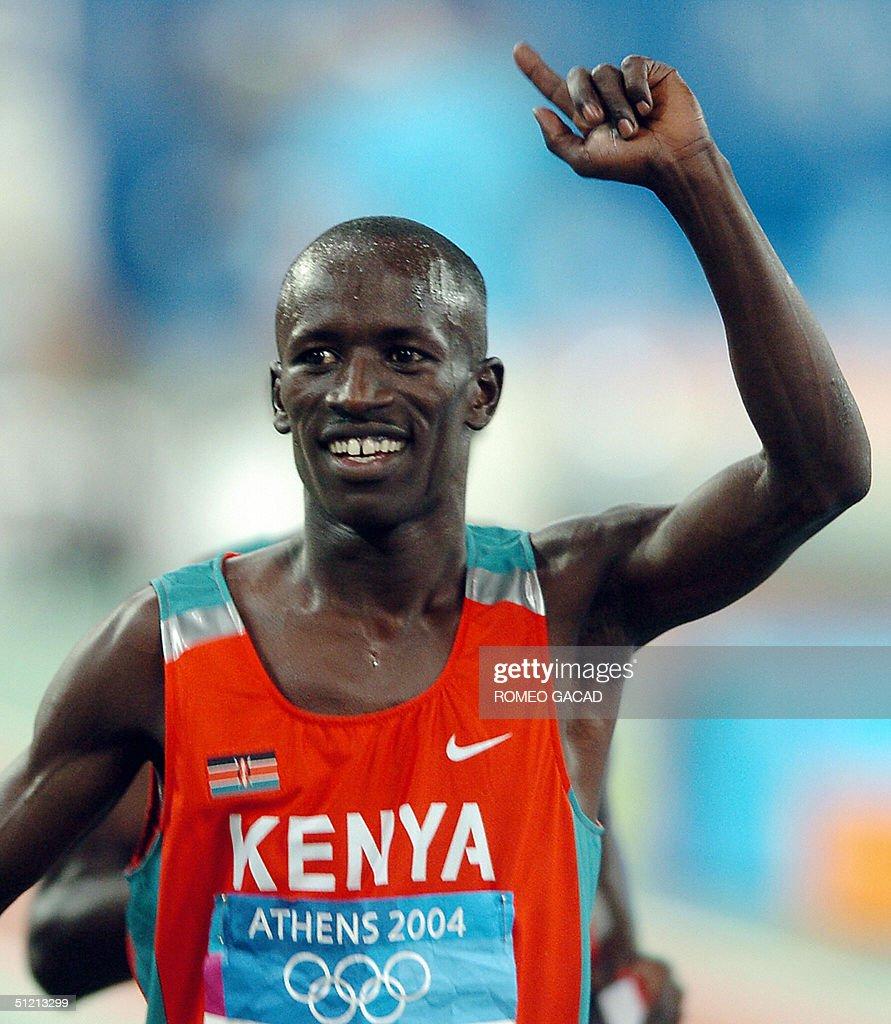 Men's 3000m steeplechase gold winner Eze : News Photo