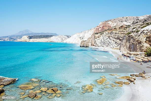 Greece, Milos, Firiplaka beach