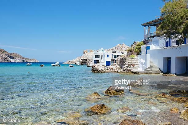 Greece, Milos, Firopotamos Beach
