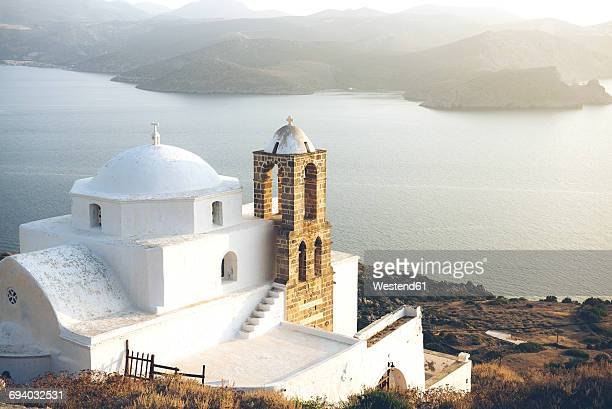 Greece, Milos, Orthodox church of Plaka