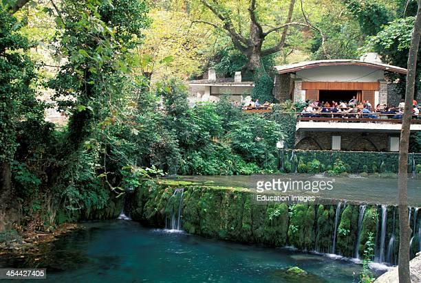 Greece Mountain Cafe Near Delphi
