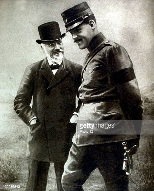 Greece Mr, Venizelos and King Constantine of Greece just before the Balkan War.
