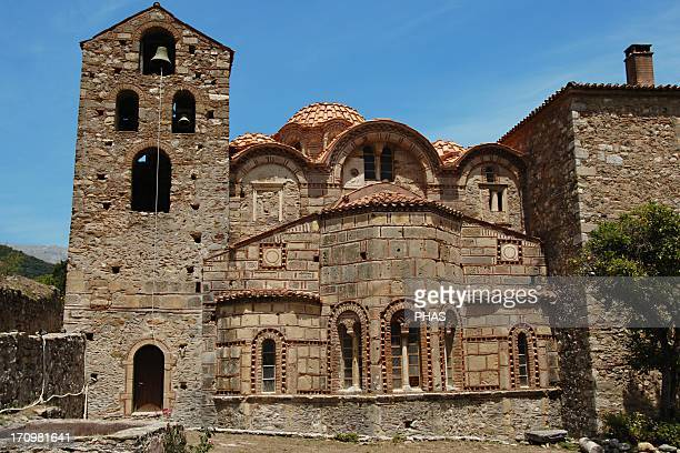 Greece Mystras The Cathedral or Metropolitan Church of Aghios Dhimitrios Was built by the first Paleologue ruler between 1270 and 1292 and is the...