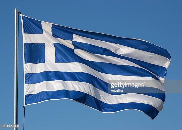 greece - greek flag stock pictures, royalty-free photos & images