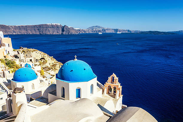 Greece Santorini Island View Wall Art
