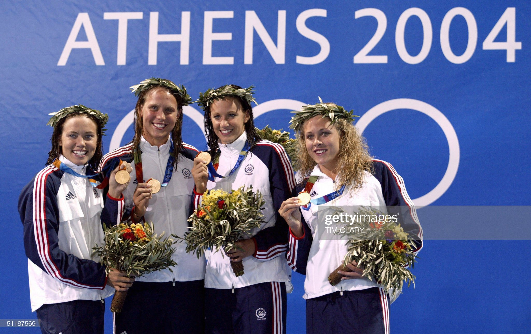 US women's 4x200m freestyle relay team c : Fotografía de noticias