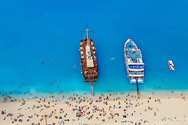 Greece, Zante island, Shipwreck beach