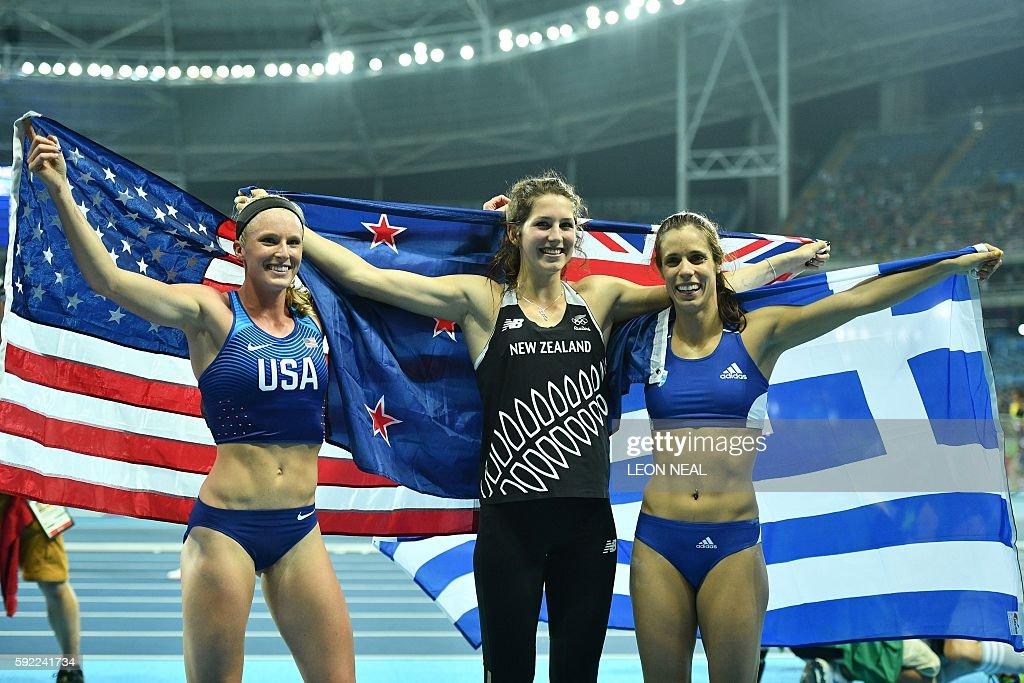 ATHLETICS-OLY-2016-RIO : News Photo