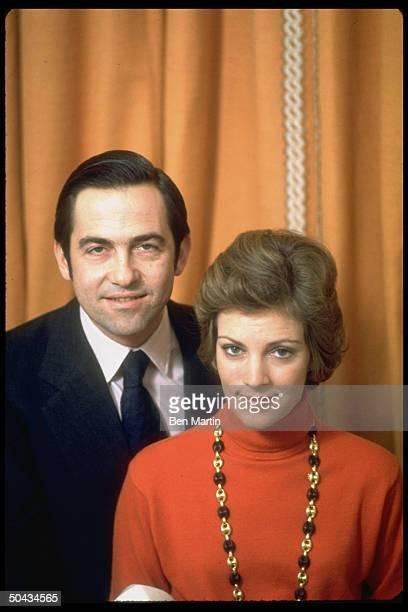 Greece's King Constantine w wife Queen AnneMarie