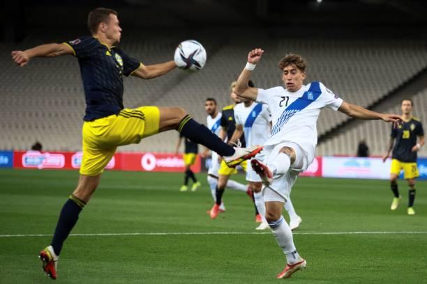 UNS: Greece v Sweden - 2022 FIFA World Cup Qualifier