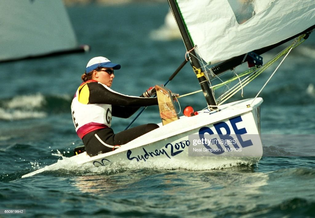 Sydney 2000 Olympics -Sailing - Women's Europe Fleet Races : News Photo
