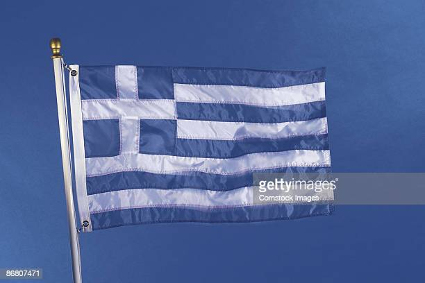 greecian flag - greek flag stock pictures, royalty-free photos & images