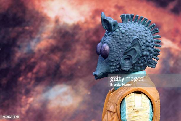 greedo and the stars - jabba the hutt stock pictures, royalty-free photos & images