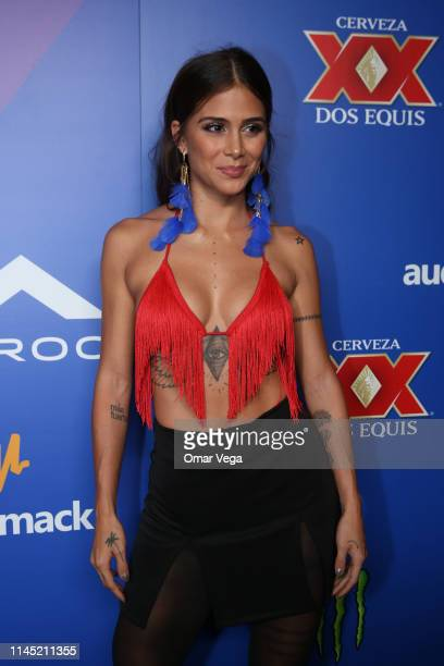 Greeicy attends the Red Carpet at the official after party of the 2019 Billboard Latin Music Awards at the Caesars Palace Las Vegas Hotel Casino on...