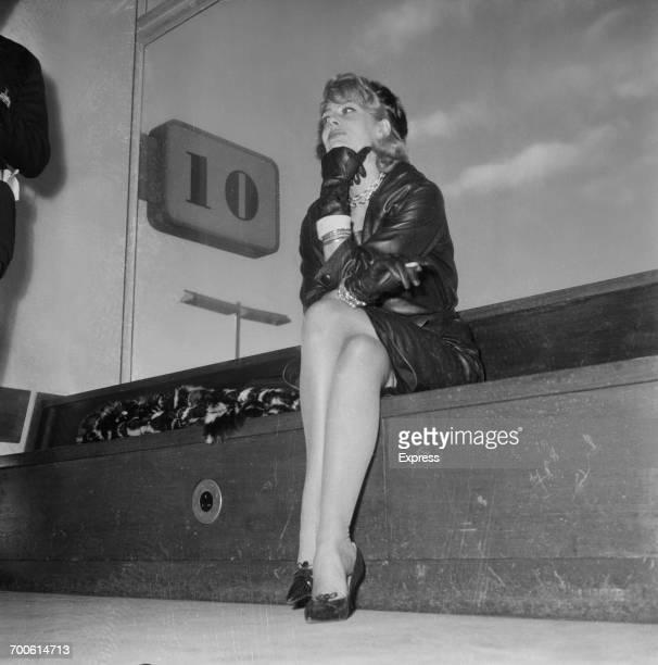 Greek actress and singer Melina Mercouri 16th November 1960