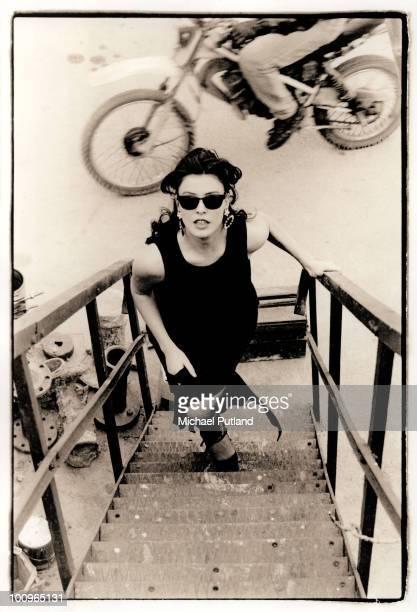 Greek actress Vana Barba, Athens, 1992.