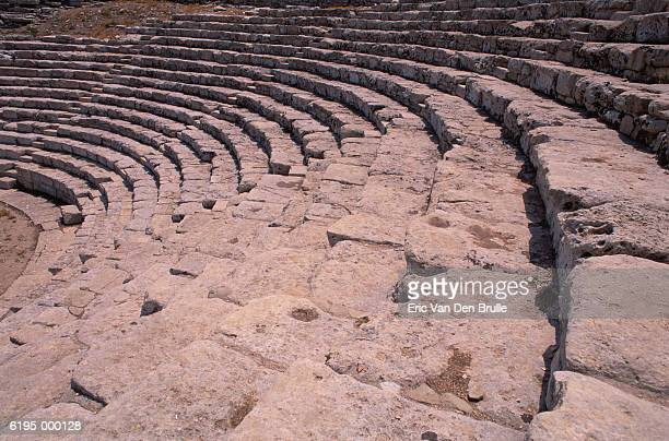 greek amphitheater - eric van den brulle stock pictures, royalty-free photos & images