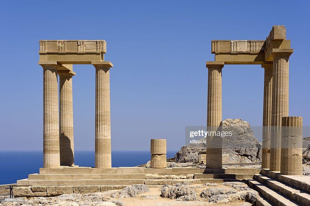 Greek Ancient Temple : Stock Photo