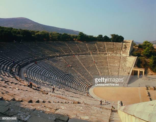 Greek Art The Ancient Theatre of Epidaurus Epidaure