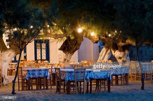 Greek beach taverna