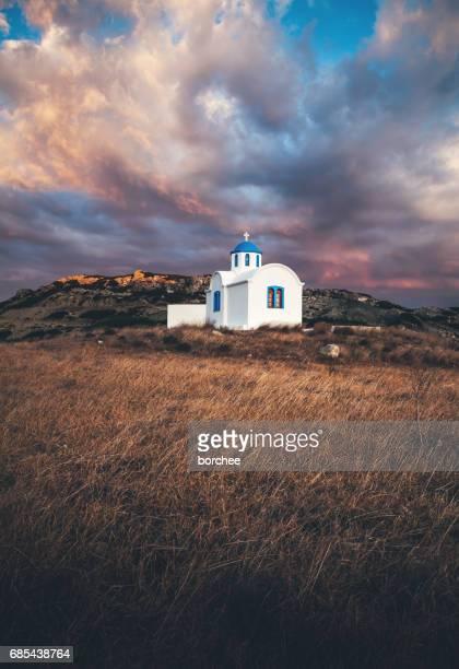 Église grecque sur l'île de Karpathos