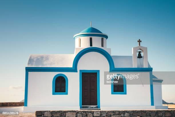 igreja grega - igreja ortodoxa grega - fotografias e filmes do acervo
