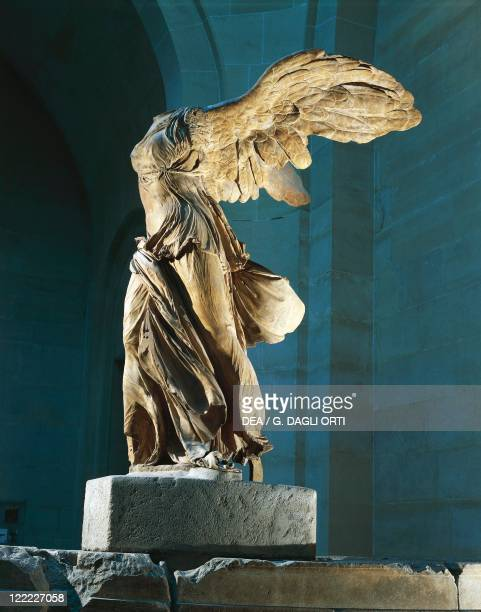 Greek civilization 2nd century bC The Nike or Victory of Samothrace marble height 328 cm