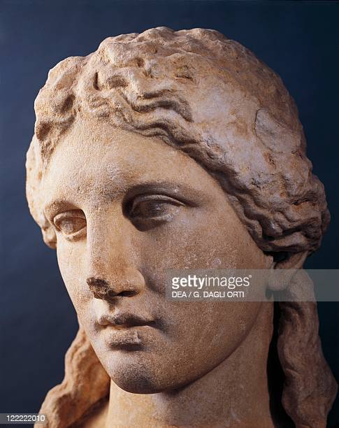 Greek civilization 3rd century bC Head of Dionysus