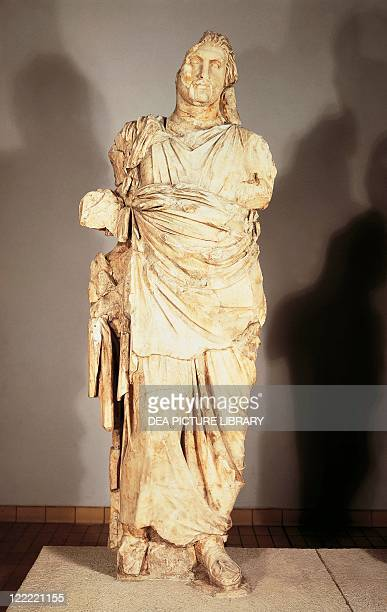 Greek civilization 4th century bC Colossal statue from the Mausoleum at Halicarnassus
