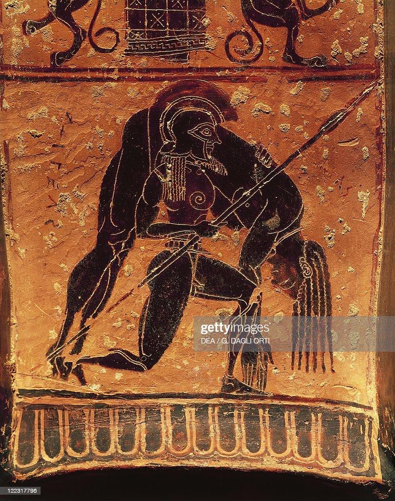 Black figure pottery francois vase attic volute krater signed by greek civilization 6th century bc black figure pottery francois vase attic volute reviewsmspy