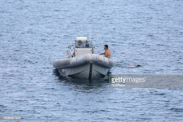 Greek coast guard retrieved today a burnt body off the sea near Fleves islets in Southwest Attica The body was spotted by a sailing boat from Glyfada...
