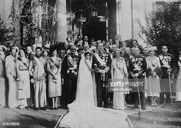 Greek Crown Prince married in Athens. Prince Paul of Greece, only brother of King George of the Hellenes and heir presumptive to the throne, was...