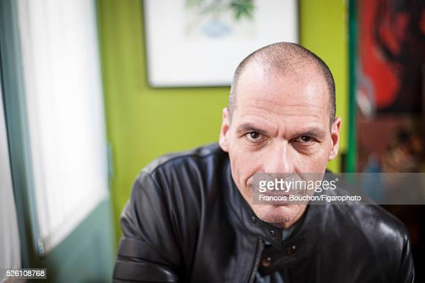 Greek economist and former Minister of Finance Yanis Varoufakis is photographed for Le Figaro Magazine on April 16 2016 in Paris France PUBLISHED...
