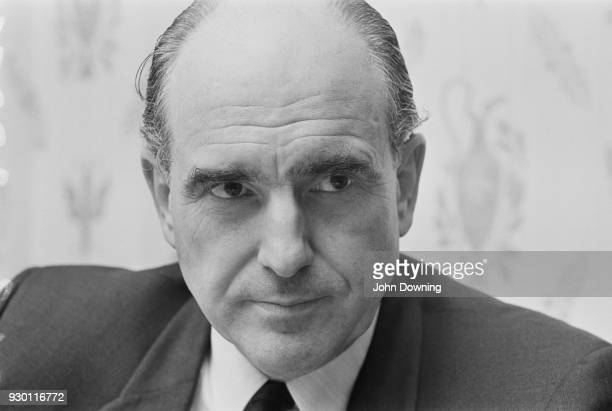 Greek economist and socialist politician Andreas Papandreou in London UK 24th July 1968