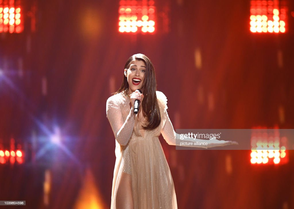Greek entrant Demy performs the song 'This is Love' during