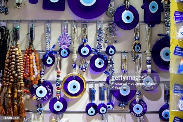 Greek Evil Eye and Worry Beads, Mykonos, Greece