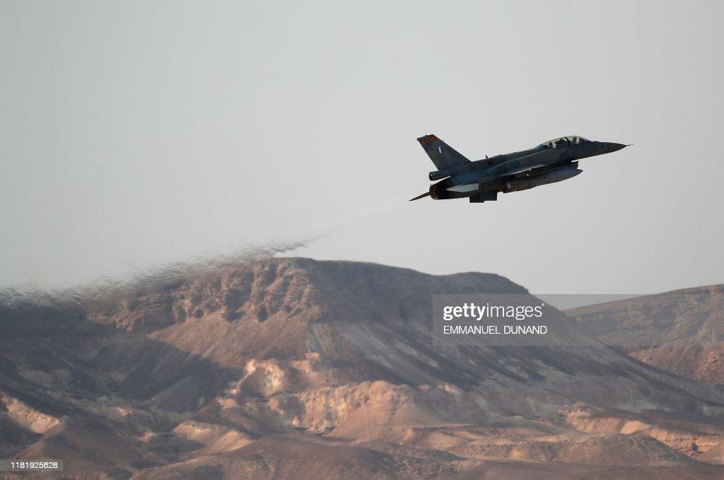 ISRAEL-MILITARY-AIR-FORCE : News Photo